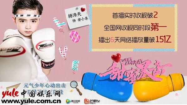 热播剧甜蜜暴击破15亿杨浩天饰安小东原是义乌人